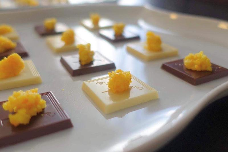 黄柚子胡椒作りワークショップ 旬の柚子胡椒
